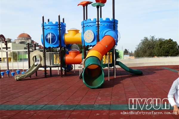 Outdoor Playground Safety Rubber