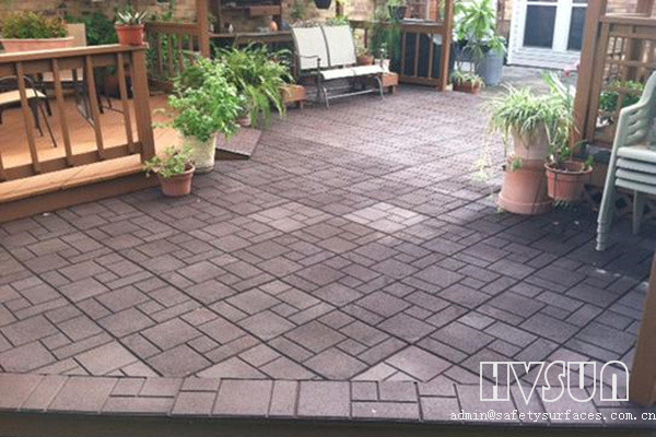 Outdoor Rubber Paver